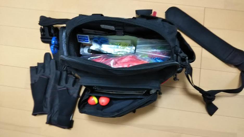 浦安サヨリ用のバッグ
