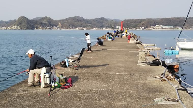 4月7日の富浦新港