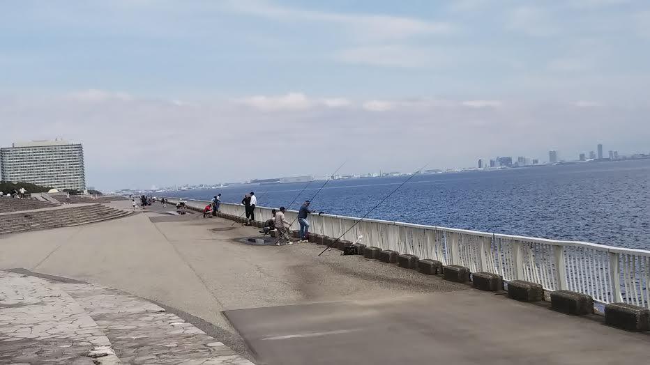 浦安の釣り場の雰囲気
