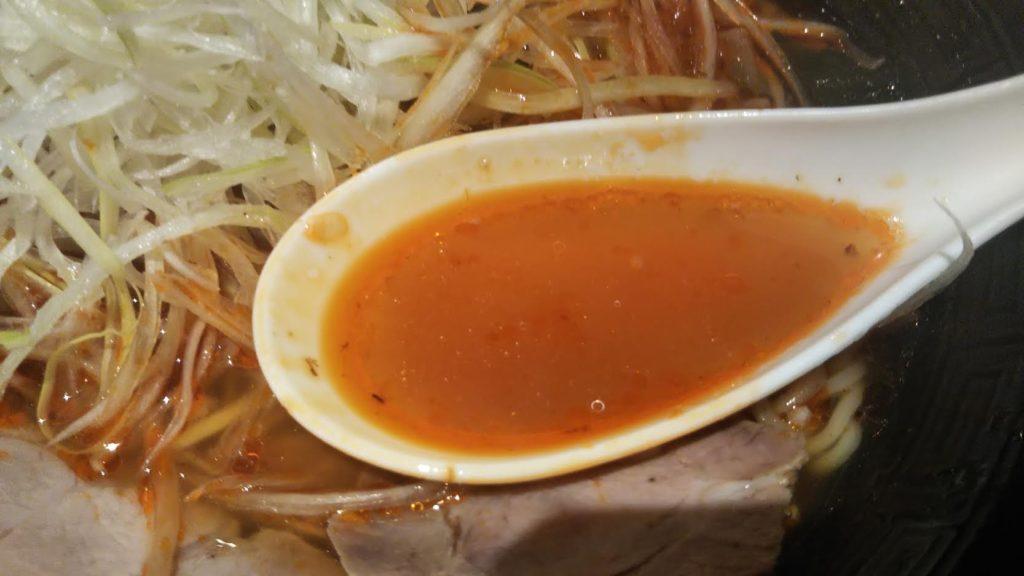 麺屋マスターピースのスープ