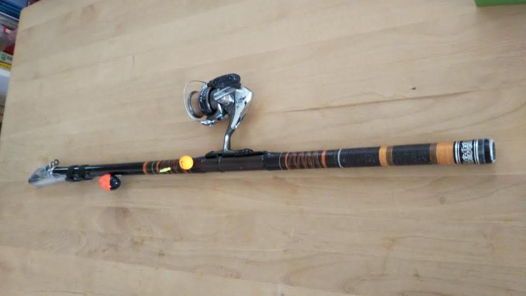 サヨリ釣りの竿