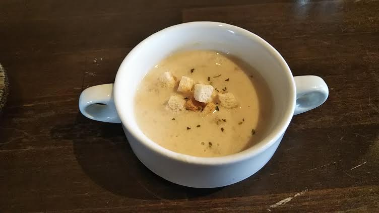 レストラン&バー「SAYAN」のスープ