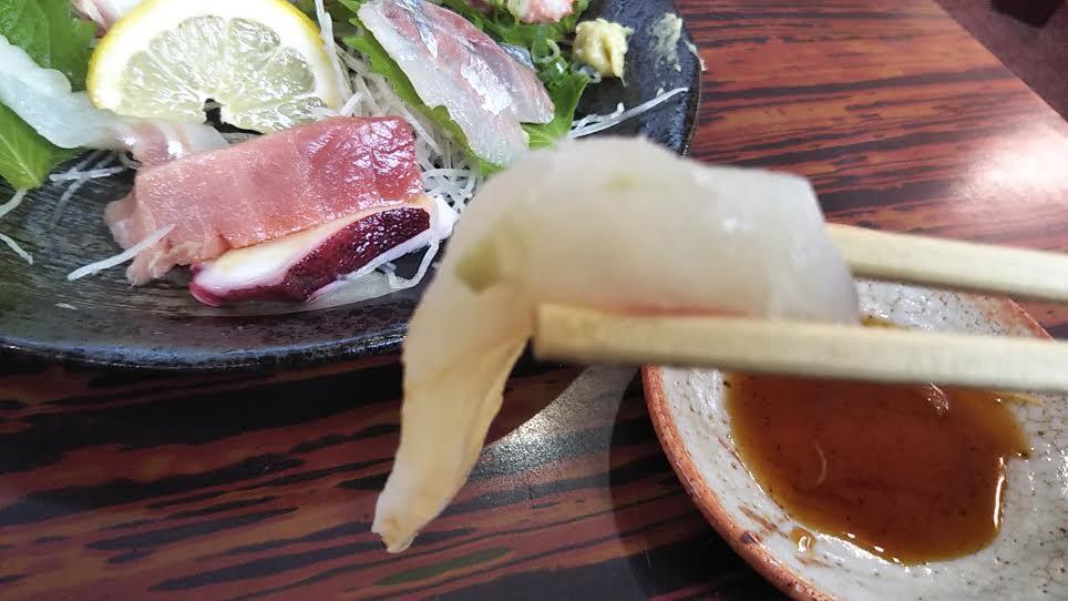 「松大丸」の刺身