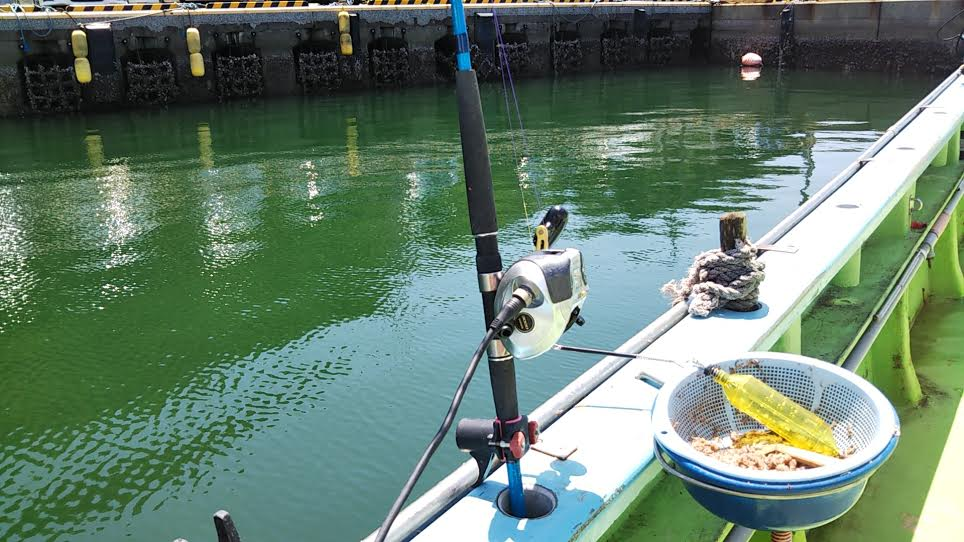 「利八丸」での船釣り
