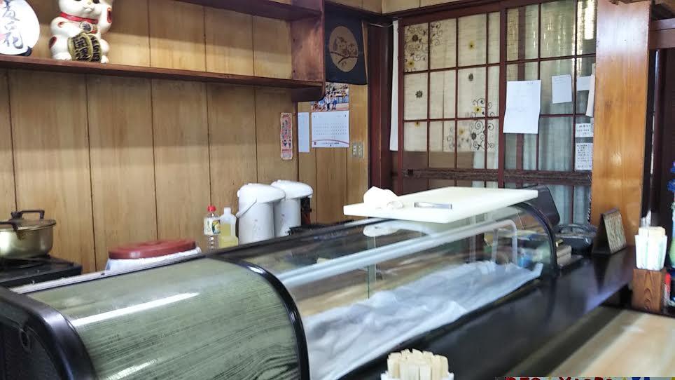 寿司「惣四郎」のカウンター