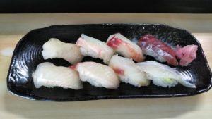 寿司「惣四郎」の握り寿司