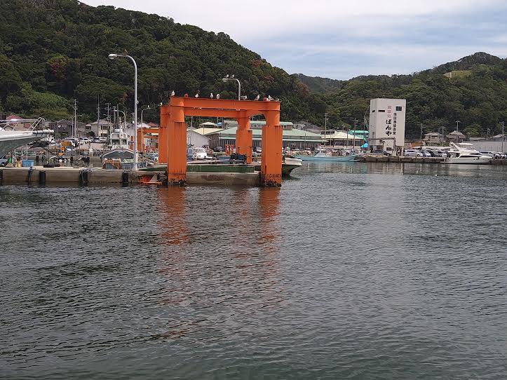 保田港「東丸」