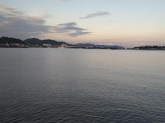 館山の釣り場