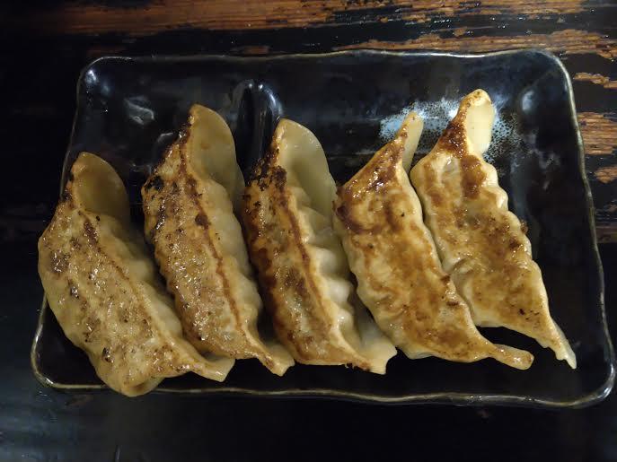 麺屋・月影の餃子