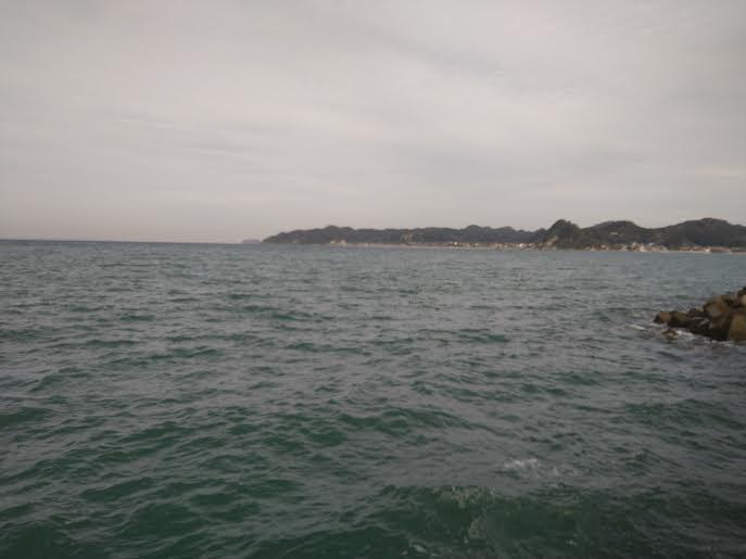南房総の堤防