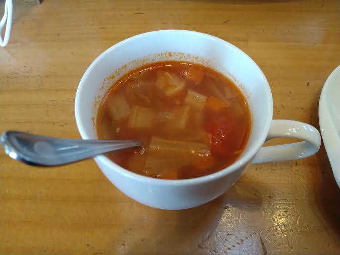 カレー店「ライバック」のスープ