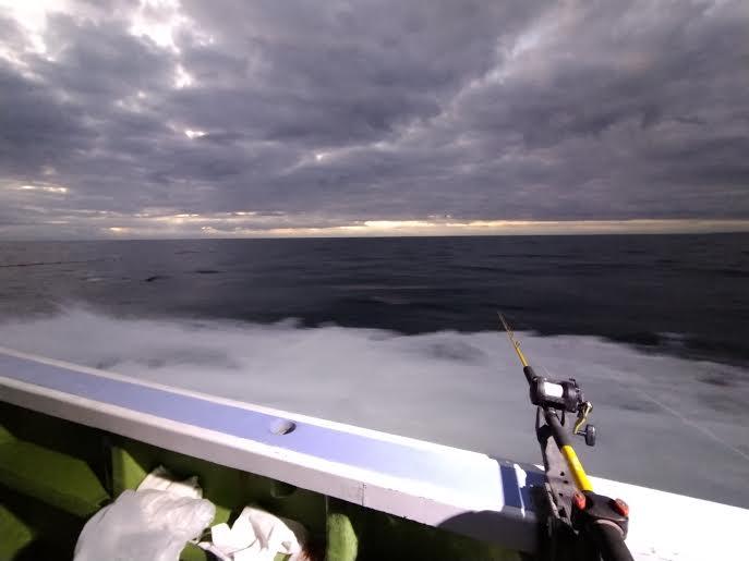 寒さの中での船釣り