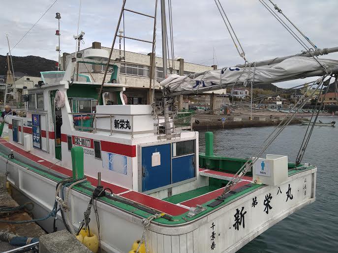 新栄丸での沖釣り