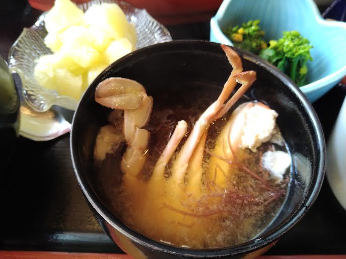 鴨川・美樹鮨の味噌汁