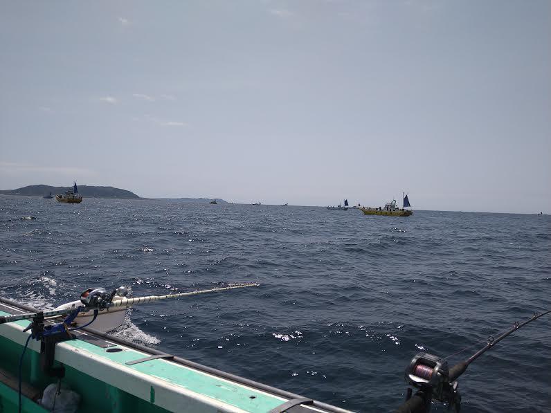 洲崎沖のマダイのポイント