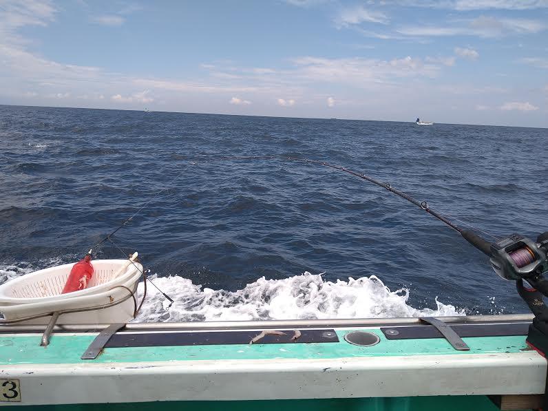 「安田丸」での船釣り
