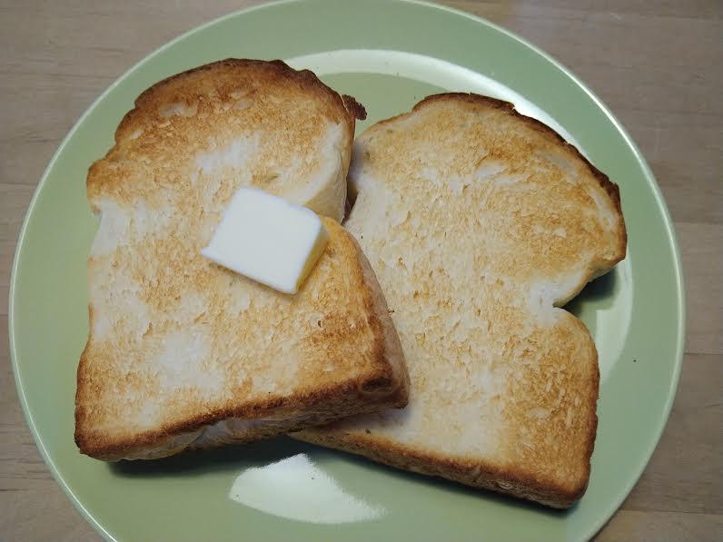 「万賀」の食パン